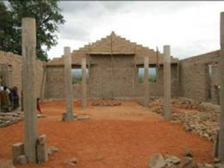 Wakenze church under construct