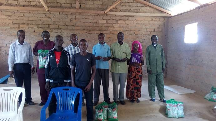 Pastors in Mpendo deanery with