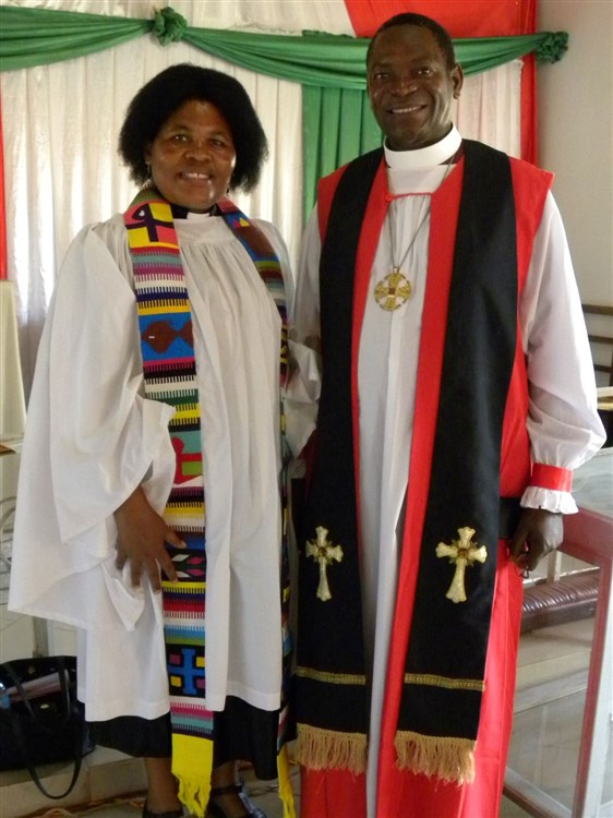 Oct 18 Bishop Given and Lilian
